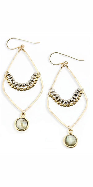 Milos Earrings by Amy Joy