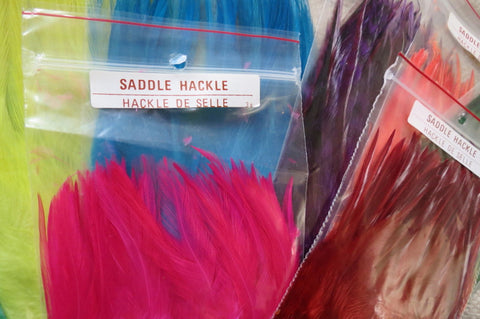 Saddle hackles
