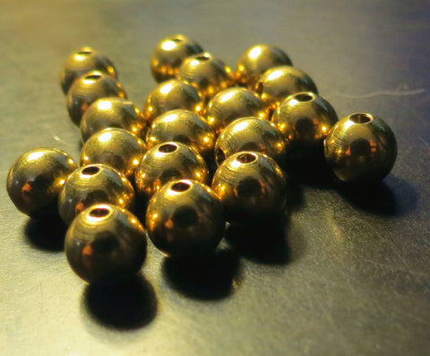 Cyclops, brass beads