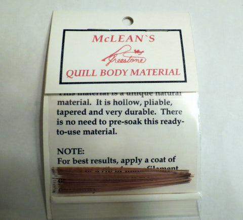 McLean's Quill Body material