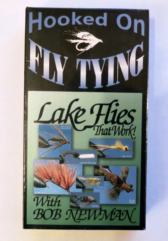 Hooked on Fly Tying, Lake Flies That Work, with Bob Newman