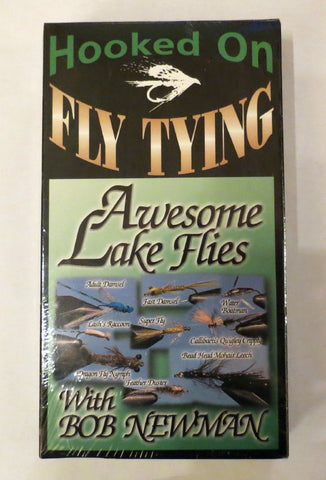 Hooked on Fly Tying, Awesome Lake Flies, with Bob Newman