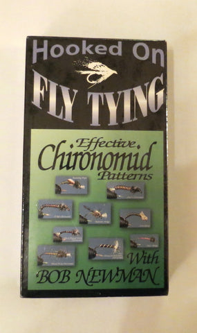 Hooked On Fly Tying, Effective Chironomid Patterns, with Bob Newman