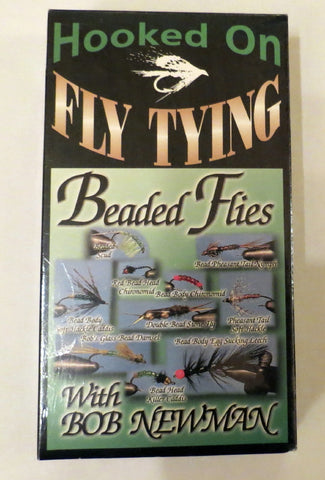Hooked on Fly Tying, Beaded Flies, with Bob Newman