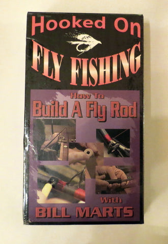 Hooked on Fly Fishing, How to Build A Fly Rod, with Bill Marts