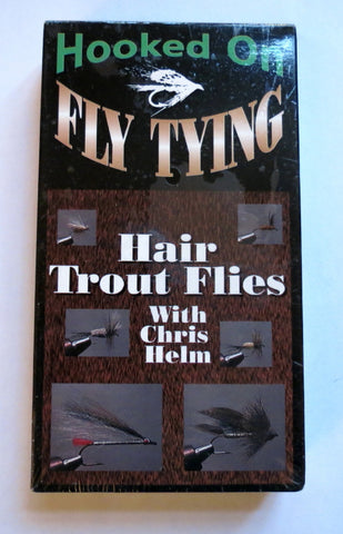 Hooked on Fly Tying, Hair Trout Flies, with Chris Helm
