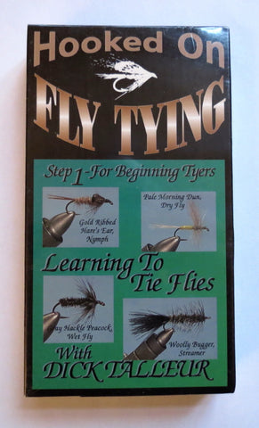 Hooked on Fly Tying, Step 1 - For Beginning Tyers, with Dick Talleur