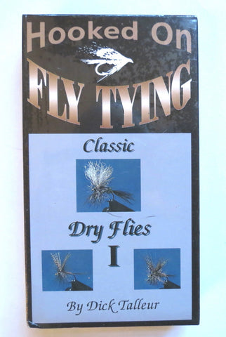Hooked on Fly Tying, Classic Dry flies I, with Dick Talleur