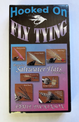 Hooked on Fly Tying, Popular Saltwater  Flats Patterns, with Jamie Dickinson