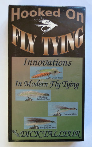 Hooked on Fly Tying, Innovations in Modern Fly Tying, with Dick Talleur