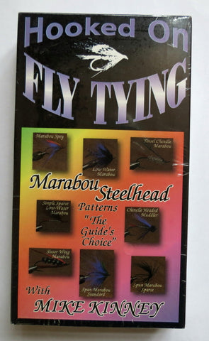 Hooked on Fly Tying, Marabou Steelhead Patterns, The Guide's Choice, with Mike Kinney