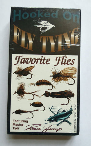 Hooked On Fly Tying, Favourite Flies, featuring Master Fly Tyer Rene Harrop