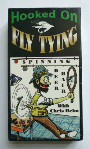 Hooked On Fly Tying, Spinning Deer Hair, with Chris Helm