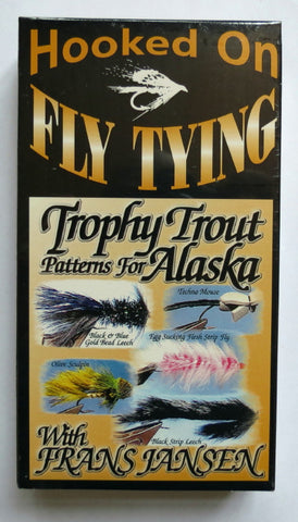 Hooked on Fly Tying, Trophy Trout For Alaska, with Frans Jansen