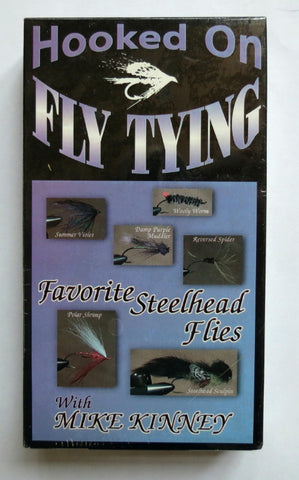 Hooked on Fly Fishing, Favourite Steelhead Flies, with Mike Kinney