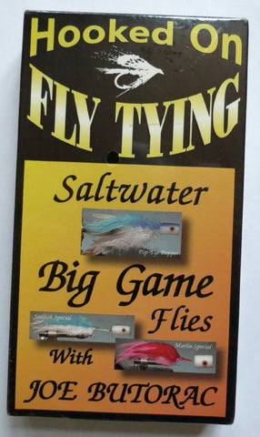 Hooked On Fly Tying, Saltwater Big Game Flies, with Joe Butorac