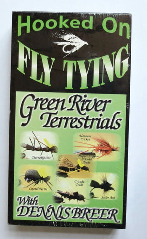 Hooked on Fly Tying, Green River Terrestrials, with Dennis Breer