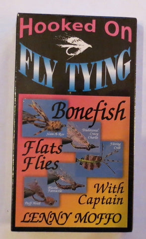 Hooked On Fly Tying, Bonefish Flats Flies, with Captain Lenny Moffo