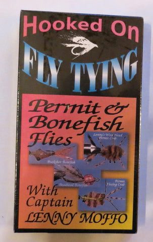 Hooked on Fly Tying, Permit and Bonefish Flies, with Captain Lenny Moffo