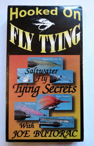 Hooked on Fly Tying, Saltwater Fly Tying Secrets, with Joe Butorac