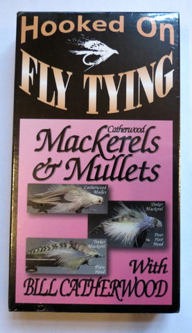 Hooked on Fly Tying, Catherwood Mackerels and Mullets, with Bill Catherwood