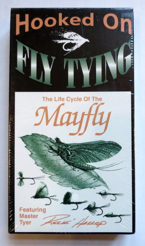 Hooked On Fly Tying, The Life Cycle of a Mayfly, Featuring Master Fly Tyer Rene Harrop