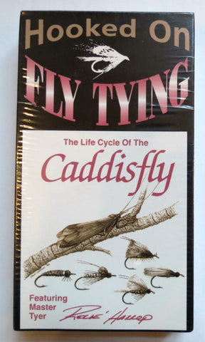 Hooked On Fly Tying, The Life Cycle of a Caddis Fly, featuring Master Fly Tyer Rene Harrop