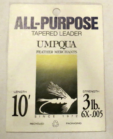 Umpqua All-Purpose Tapered Leader