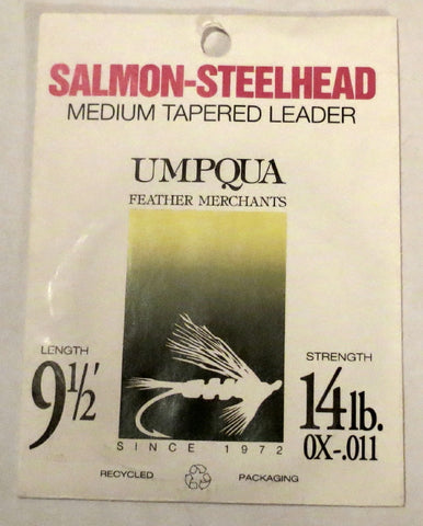 Umpqua Salmon-Steelhead, Medium Tapered Leader