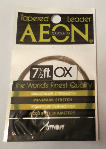 Aeon Knotless Tapered Leaders