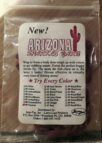 Arizona sparkle yarn