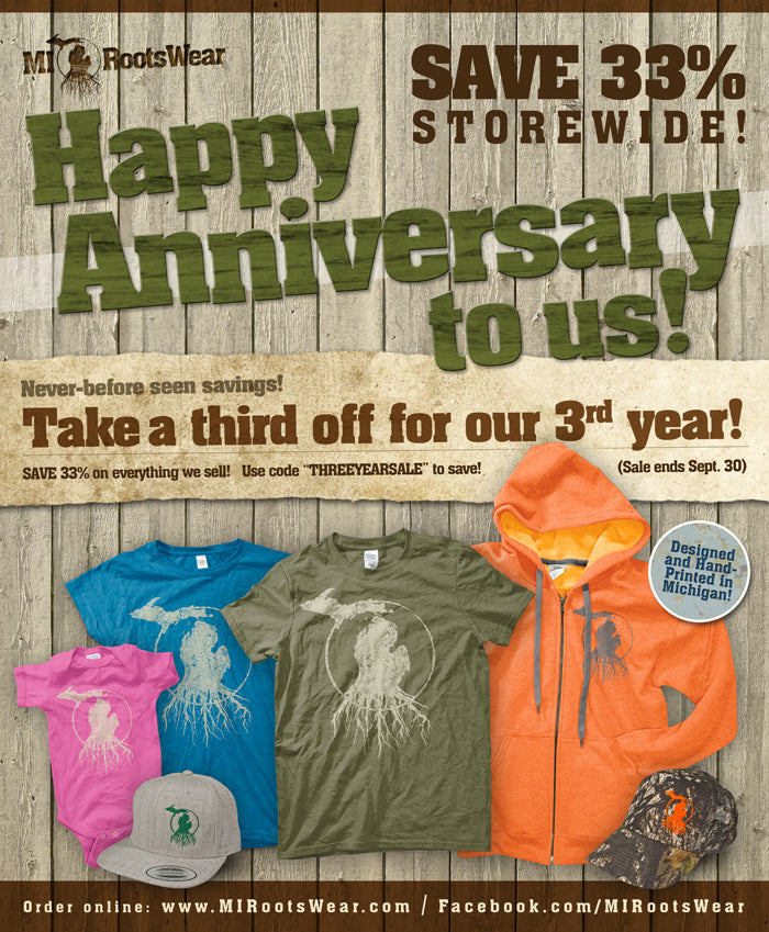 Save a third for our 3rd Anniversary!