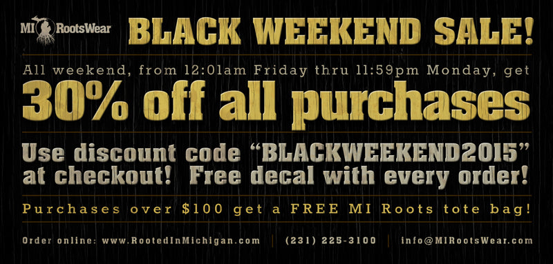 Black Weekend Sale 2015