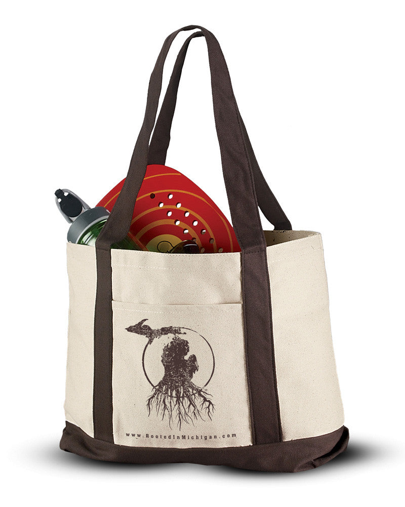 Rooted in Michigan™ - Premium Canvas Tote