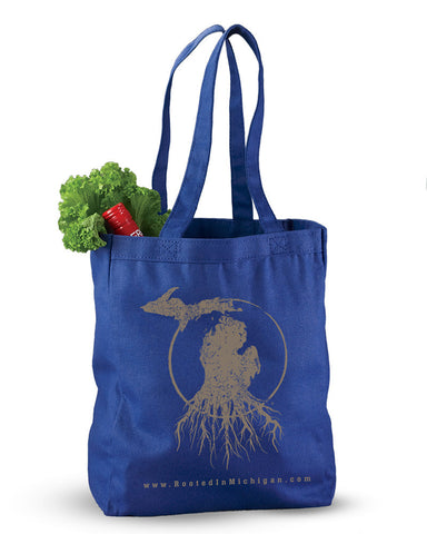 Rooted in Michigan™ - Reusable Canvas Tote