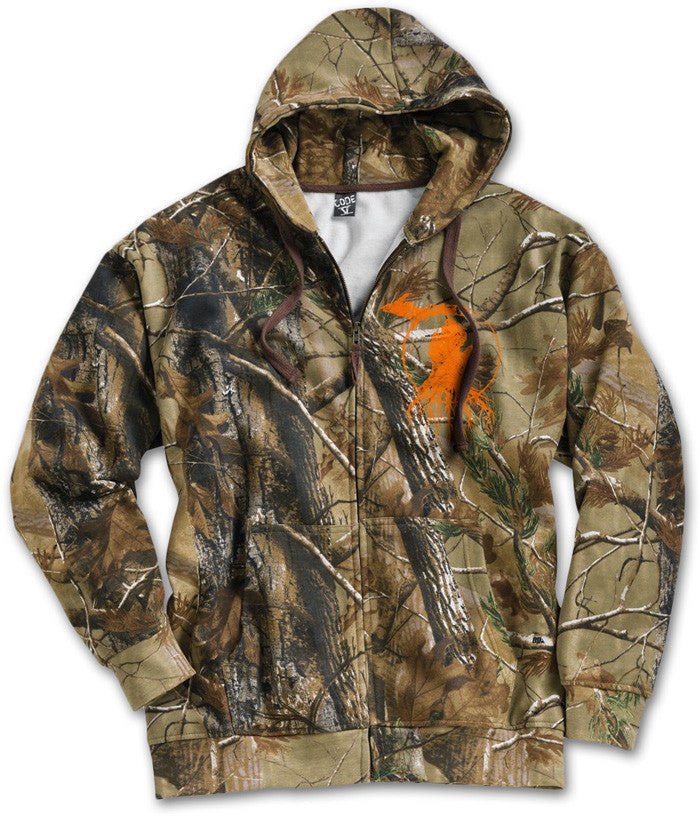 Michigan Roots Logo Hooded Zip-Up - RealTree™ AP Camo