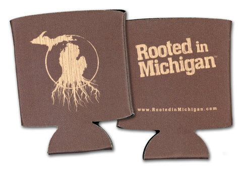 Rooted in Michigan­™ Can Koozie