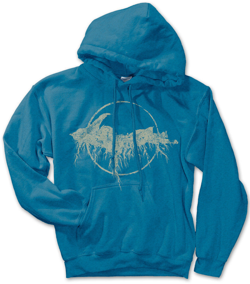 Unisex Yooper Roots Pullover Hoodie - Antique Sapphire