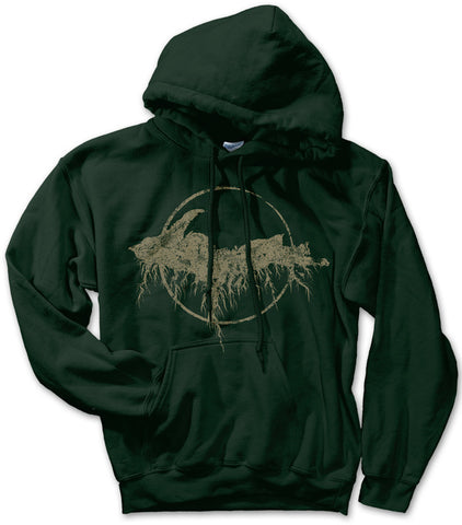 Unisex Yooper Roots Pullover Hoodie - Forest Green