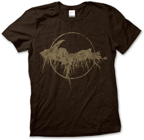 Unisex Yooper Roots Logo T-Shirt - Chocolate Brown