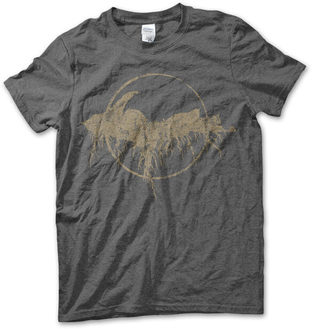 Unisex Yooper Roots Logo T-Shirt - Heather Charcoal Grey