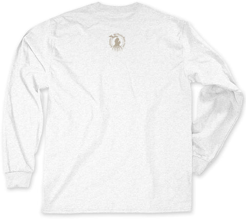 Long Sleeve Michigan Roots Logo Shirt - Ash Grey