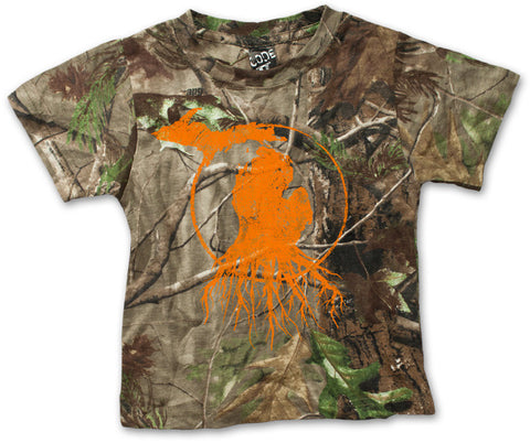 Youth Michigan Roots Logo Shirt - RealTree™ Camo