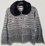 Glam Sequin Cardigan