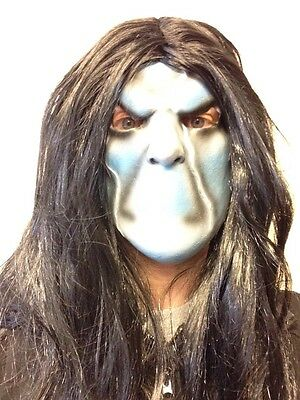 Sinister Bughuul Boogeyman Latex Face Mask Wig Halloween Fancy Dress Slipknot