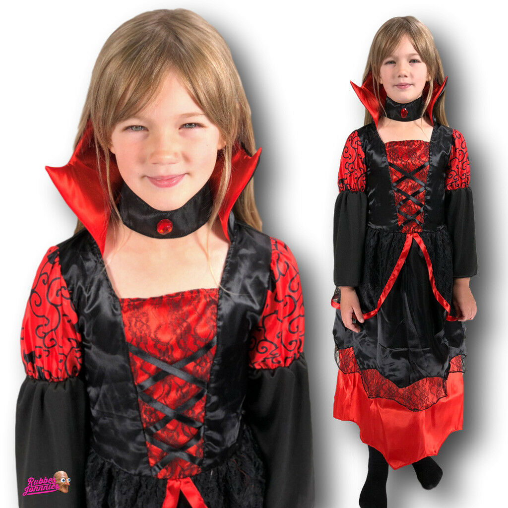 Deluxe Vampire Queen Girls Costume