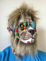 Rasta Lion Latex Mask