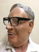 Ronnie Barker Overhead Latex Mask The Two Ronnies British Comedian Fancy Dress