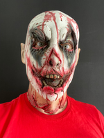 Scary Melted Clown Zombie Mask