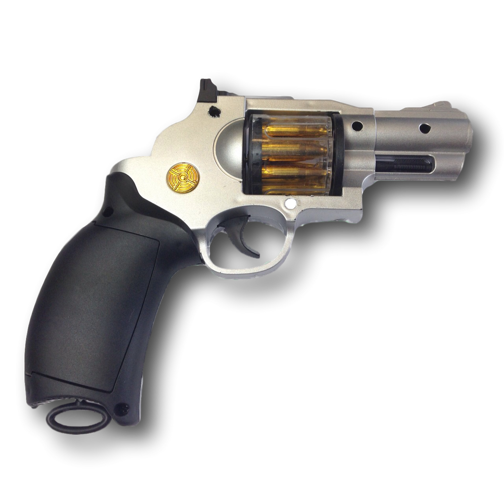 colt 45 snubnose handgun toy replica full size
